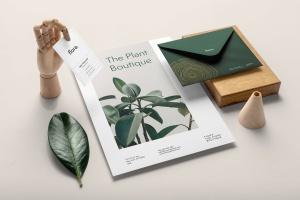 高端品牌VI设计办公用品套件样机模板v2 Flora Branding Mockup Vol. 2插图8