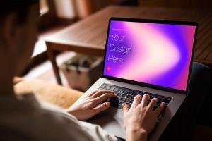 高雅干净利落笔记本电脑MacBook Pro样机 Elegant & Clean Macbook Pro Mockups插图4