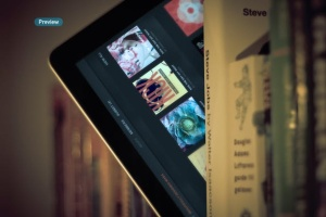 iPad平板电脑演示APP设计样机模板 Black iPad | Tablet App Scenes UI Mock-Up插图10