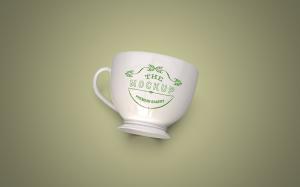 陶瓷茶杯咖啡杯外观设计样机模板v2 Cup Mockup 2.0插图8