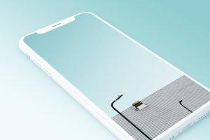 一流设计素材网下午茶:7款最受欢迎的iPhone X Clay模型 Mockups插图6