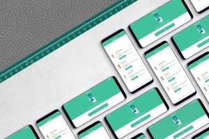 三星智能手机S9应用程序演示设备样机 S9 Mockup插图6