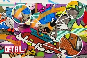 POP波普艺术Procreate笔刷套装 POP ART BRUSHES KIT插图2
