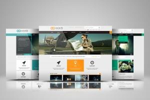 网站设计效果图多视觉预览样机模板 Website Display Mockup插图4