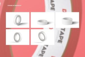 管道胶带图案设计效果图样机v2 Duct Tape Mock-up 2插图3