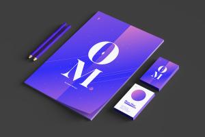 品牌VI设计案例预览办公用品套装样机03 Stationery Mockup 03插图4