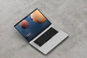高分辨率笔记本电脑样机 Laptop Screen Mockup插图3