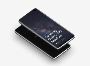 三星智能手机S10超级样机套装 Samsung Galaxy S10 Mockups插图41