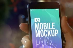 实景iPhone展示样机模板合集 Mobile Mockup Living Photos插图7