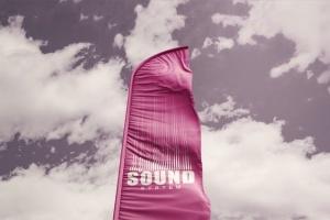 3D羽毛旗帜展示样机模板 3D Flags Feather / Bow / Sail Flag Mockup插图4