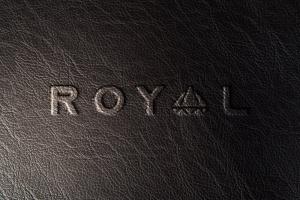 真皮材质品牌Logo设计压印效果图样机模板 Leather Branding logo mockups插图4