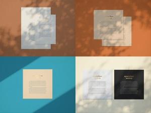 品牌VI设计系统办公用品印刷品套件样机 Stationary Mockup — Set 1插图5