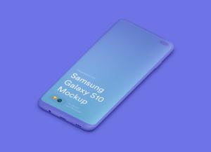 三星智能手机S10超级样机套装 Samsung Galaxy S10 Mockups插图39