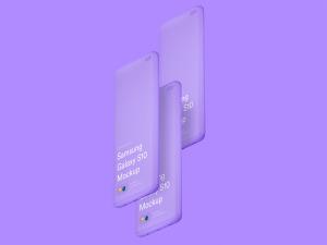 三星智能手机S10超级样机套装 Samsung Galaxy S10 Mockups插图4