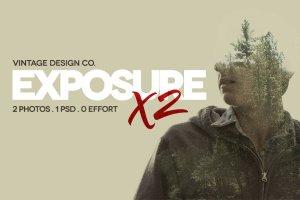 照片炫酷风格化特效PSD模板 ExposureX2 – Advanced Photo Effects插图1