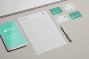 企业品牌办公文具等距样机模板 Branding / Identity Mock-up插图4