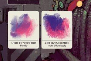 超级手绘插画Procreate笔刷 Canvas X – Procreate Brush Pack插图2