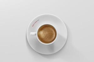 高品质的咖啡马克杯样机展示模板 Coffee Cup Mockup – Cone Shape插图14
