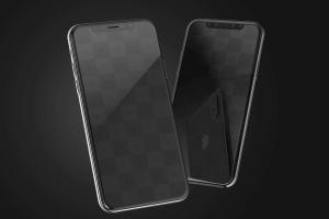 iPhone X手机界面设计效果图预览样机02 iPhone X Mockup 02插图3
