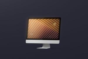 iMac电脑桌面屏幕样机模板 Desktop Screen Mockup插图12