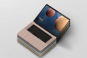高分辨率笔记本电脑样机 Laptop Screen Mockup插图10
