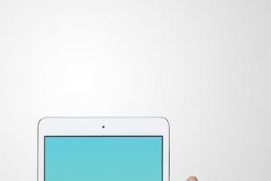手持iPad Mini设备演示样机模板 iPad Mini Studio Mockups插图9