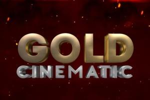 10款3D金色金属字体效果PSD分层模板 3D Metal & Gold Effects插图7