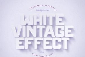 14个复古风格立体特效PS字体样式 14 Vintage Retro Text Effects插图10
