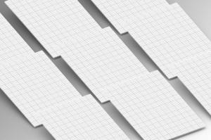 A4纸张大小网站设计作品展示样机模板 A4 Paper Mock Up插图2