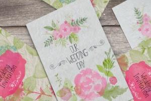 水彩花卉PS印章画笔笔刷 Floral Watercolor PS Stamp Brushes插图(3)