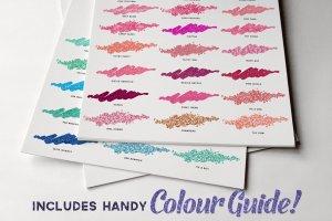 140款精心制作的色彩斑斓图层样式 The Glitz Shoppe插图5