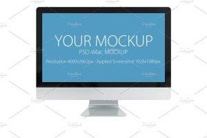 网站产品设计iMac样机展示模型 PSD  iMac mockup插图2