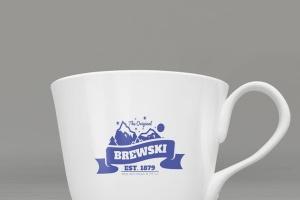冷饮品牌设计样机模板[不锈钢冰摇杯/马克杯/玻璃杯/纸袋] Branded Products Mock-up V2插图3