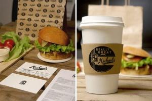 汉堡咖啡品牌样机模板 Burger Cafe Mockup插图7