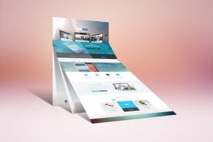 网站设计案例预览样机模板 Website Display Mockup插图4
