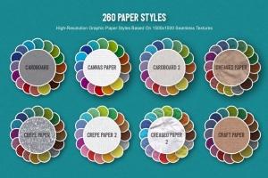 可爱剪纸艺术插画AI设计素材 Paper Kingdom Illustrator Graphic Styles插图4