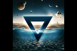 炫酷3D立体水面漂浮文字样式PSD分层模板 Underwater Text Logo Effect插图2
