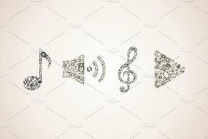 音乐元素组合音乐插图集 Compound music插图3