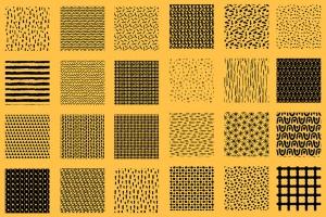 AI手绘插画必备的50个笔刷&60种图案纹理 Patts Brush Collection for Adobe Illustrator插图8