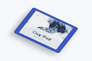 iPad平板电脑屏幕界面设计图样机模板02 Clay iPad 9.7 Mockup 02插图4