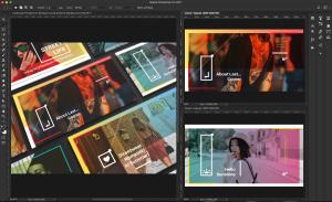 新媒体社交媒体传播设计物料效果图样机模板01 Landscape Perspective Mockup 01插图1