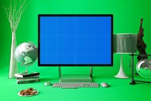 办公室场景微软一体机Surface样机模板合集 Surface in Studio插图8