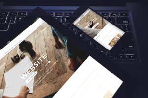响应式网站设计多设备样机合集 Lifestyle Responsive iPhone Mock-Up插图1