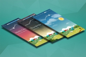 APP应用交互界面设计效果图样机 App Mock up – Isometric Scenes插图3