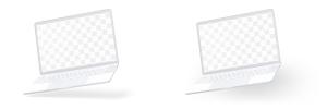 15寸MacBook Pro笔记本电脑屏幕演示样机模板 Clay MacBook Pro 15″ with Touch Bar Mockup插图4