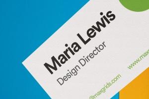 企业名片设计侧立效果图样机模板v2 Business Card Mockup 02插图4