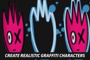 涂鸦艺术插画创作Procreate笔刷工具箱 The Graffiti Box: Procreate Brushes插图6