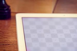 iPad Air平板电脑局部特写样机模板 iPad Air 2 Mockup插图2