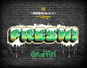 街头涂鸦文字效果PSD分层模板v3 Graffiti Text Effects Vol.3插图10