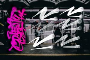 欧美街头涂鸦艺术PS笔刷下载插图4